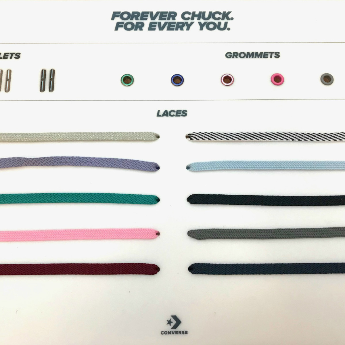Chucks by You - lace options