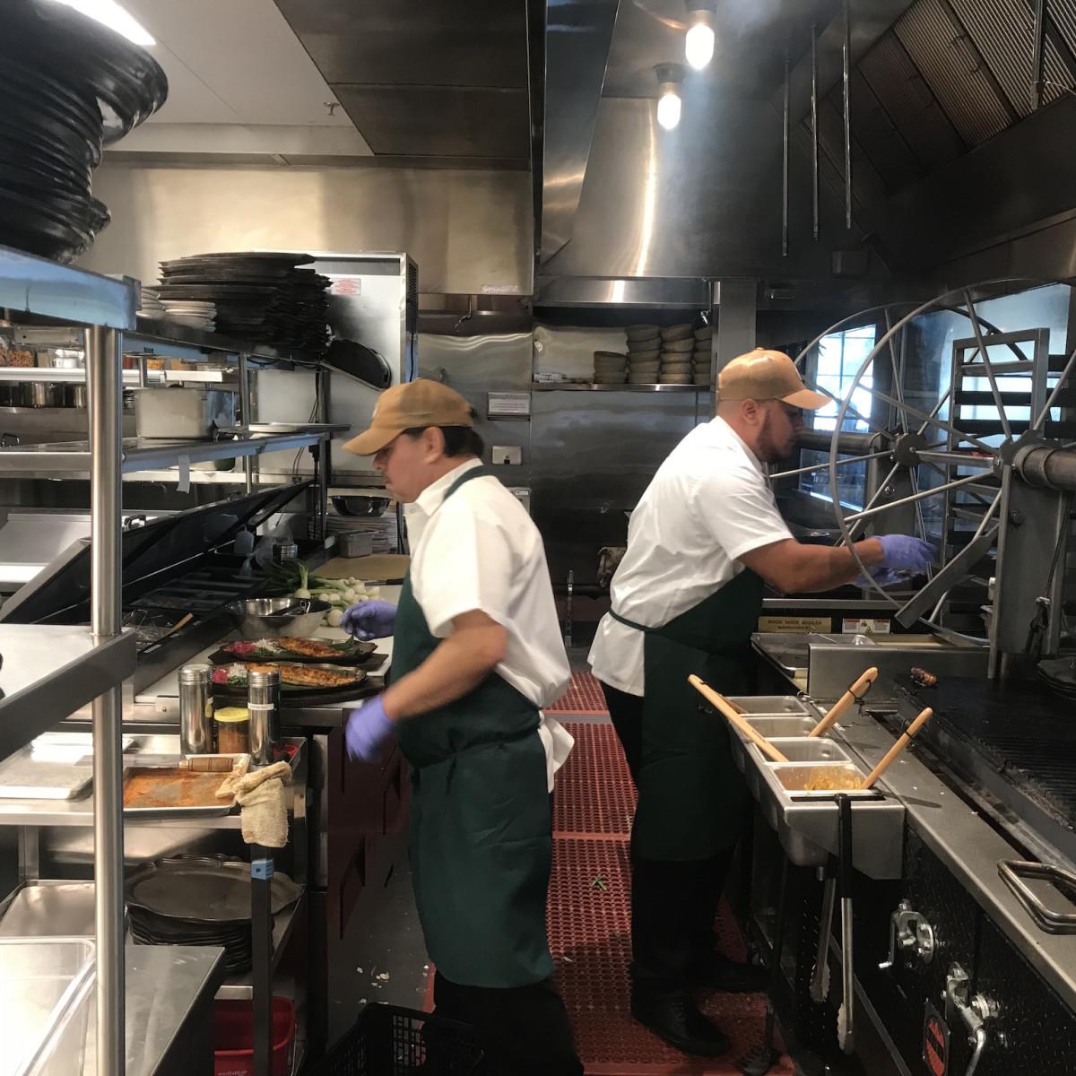 Goode Company Kitchen & Cantina Spring Branch kitchen interior