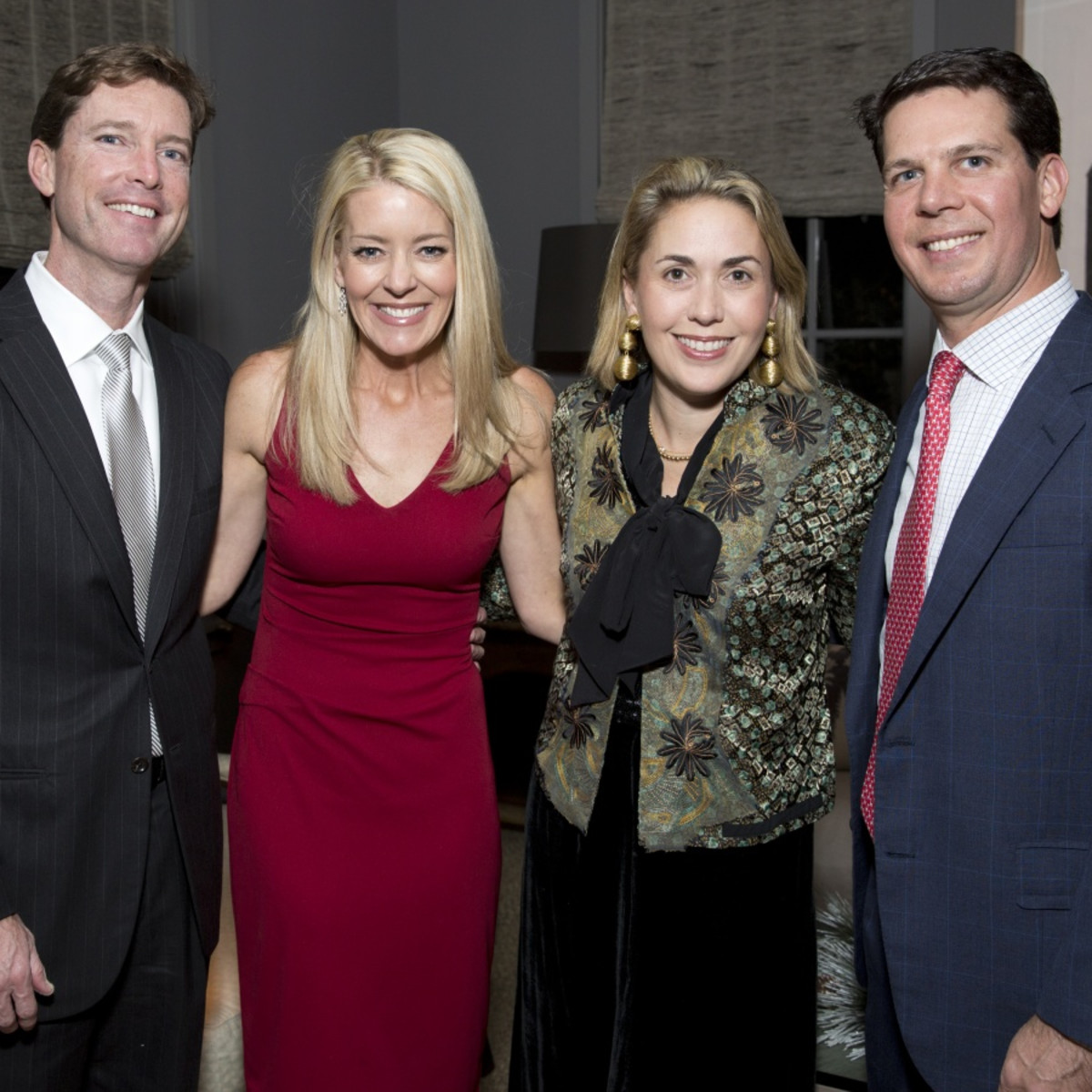 Houston, TCH Ambassadors holiday party, December 2017, Sam Pitts, Missy Pitts, Leslie Hull, Mark Hull