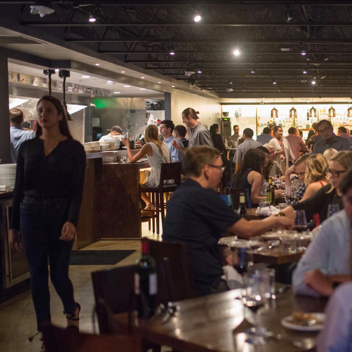 Riel restaurant dining room