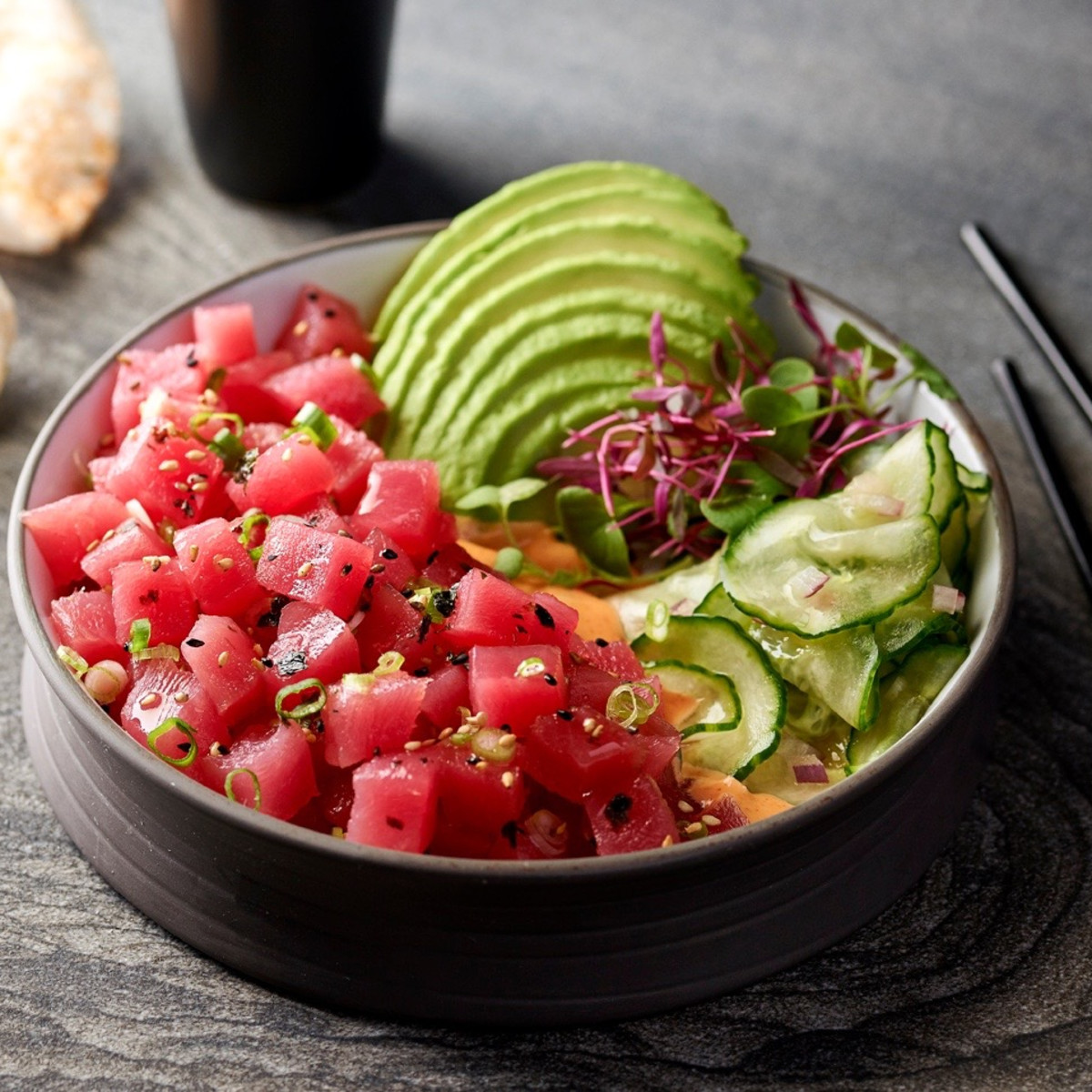 Willie G's The Post Oak tuna poke
