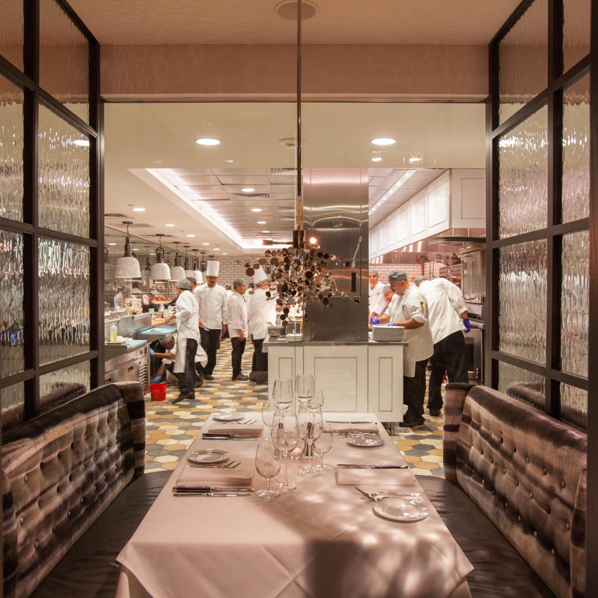 Steak 48 kitchen suite interior