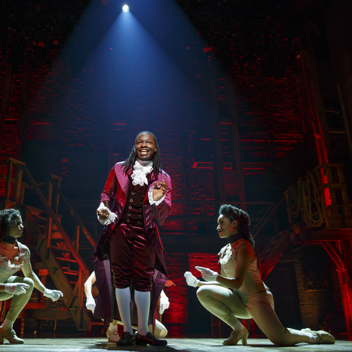 Chris De'Sean Lee in Hamilton