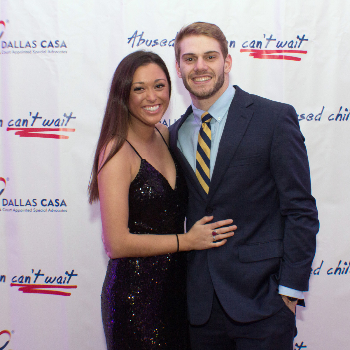 Dallas, CASAblanca gala, January 2018, Nick Berman, Julia Spendio