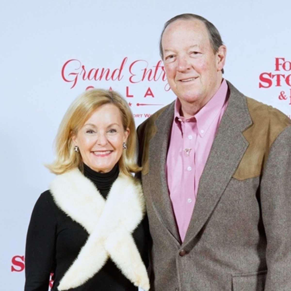 Fort Worth, JLH Grand Entry Gala, January 2018, Gail Landreth, Bill Landreth