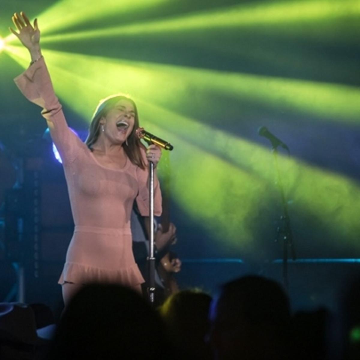 Fort Worth, JLH Grand Entry Gala, January 2018, LeAnn Rimes