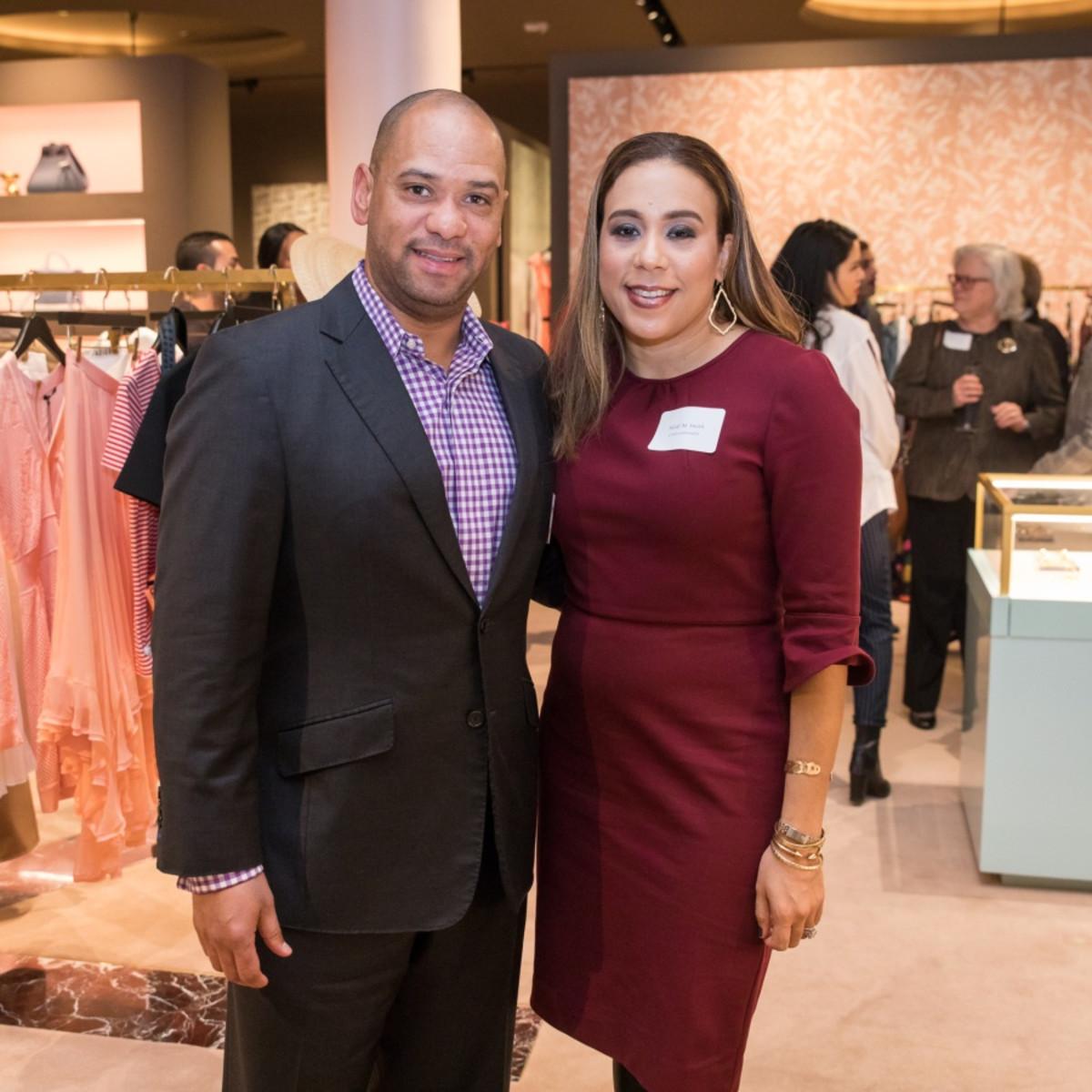 Houston, Table Talk Honoree party, January 2018, Marcus Smith, Heidi Smith