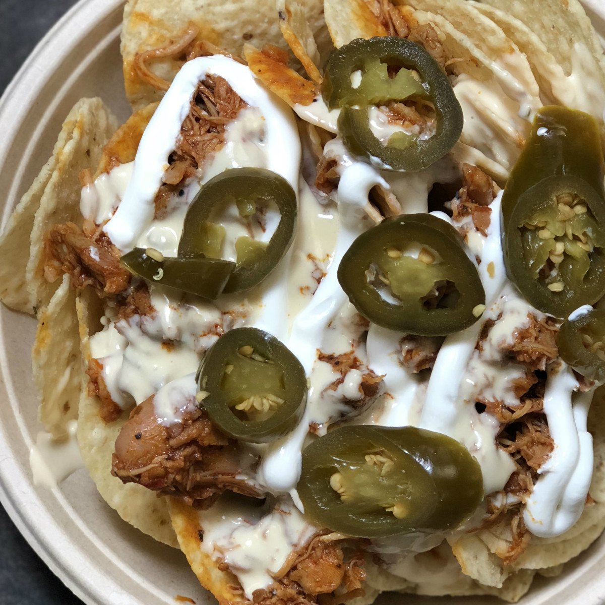 Toyota Center chicken adobo nachos Ken hoffman