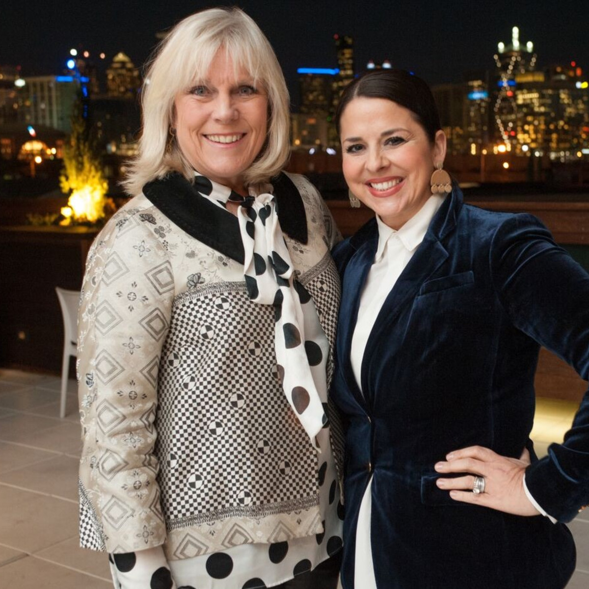 Paige Flink, Melissa Sherrill Martin, Partners Card Announcement Party 2018
