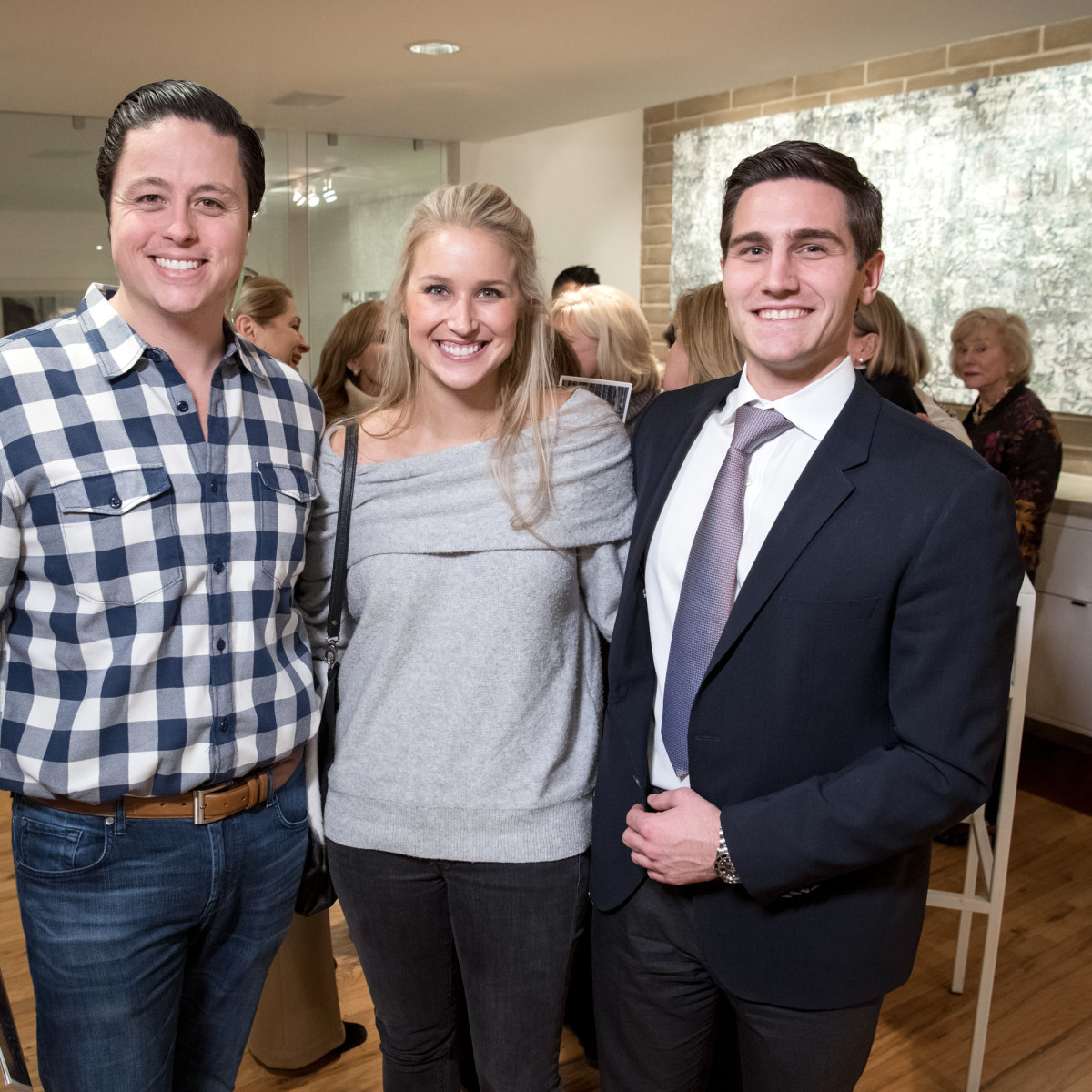 Dallas, LR Art House opening, January 2018, Ryan Hoopes, Emily Hoopes, Anthony Chammah