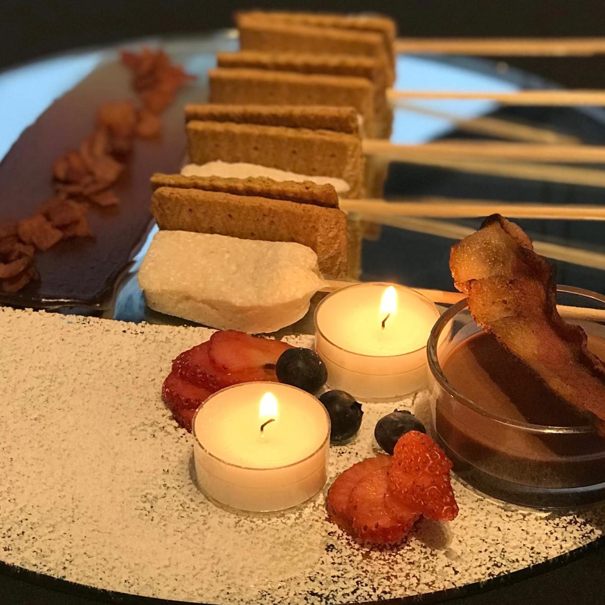 Momo Food + Wine Valentine's Day S'mores