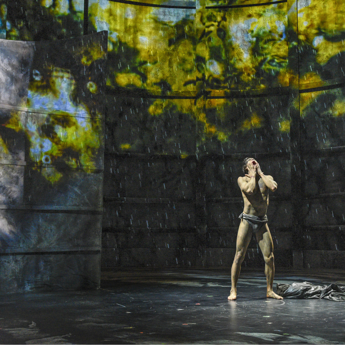 Kim Fischer in Dallas Theater Center's Frankenstein