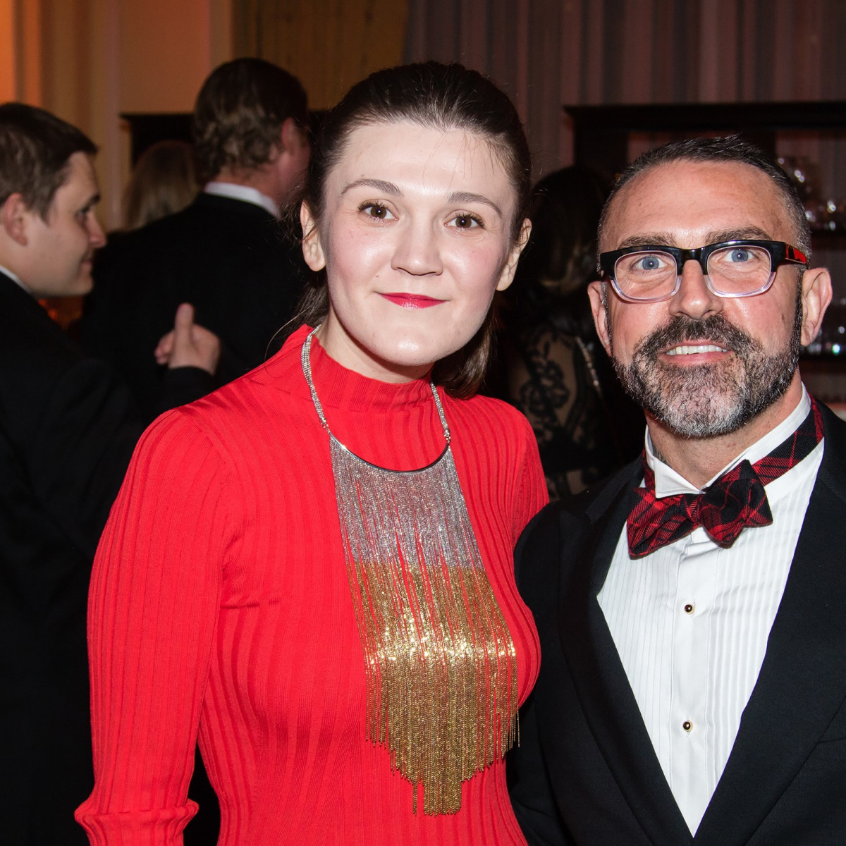Alma Samardzic, Michael Walker, Unicef Gala 2018