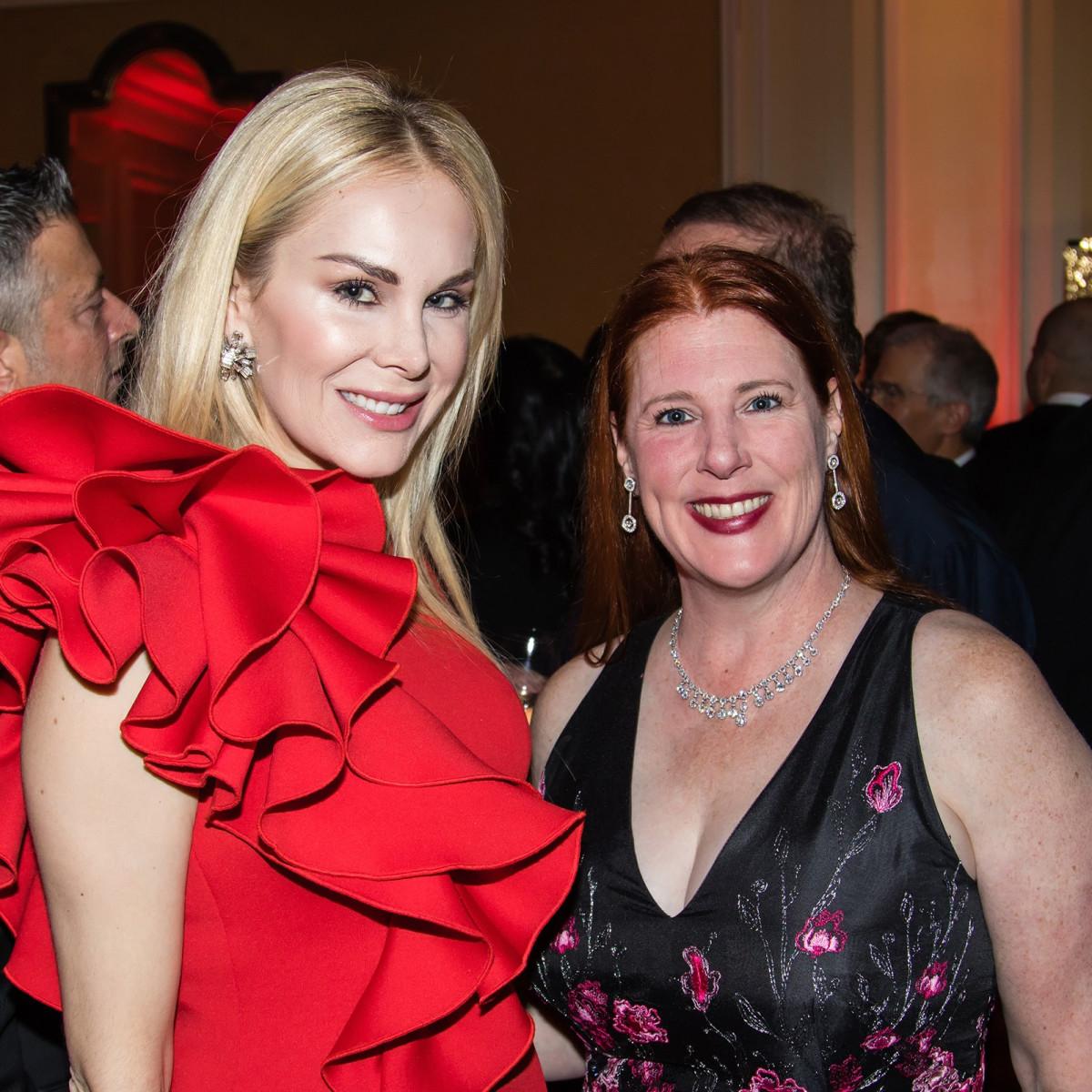 Kameron Westcott, Anne Stodghill, Unicef gala 2018