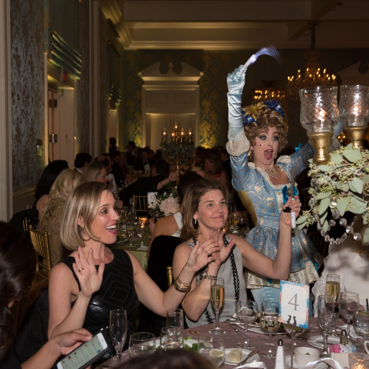 Houston, JLH Charity Ball, February 2018, champagne girls