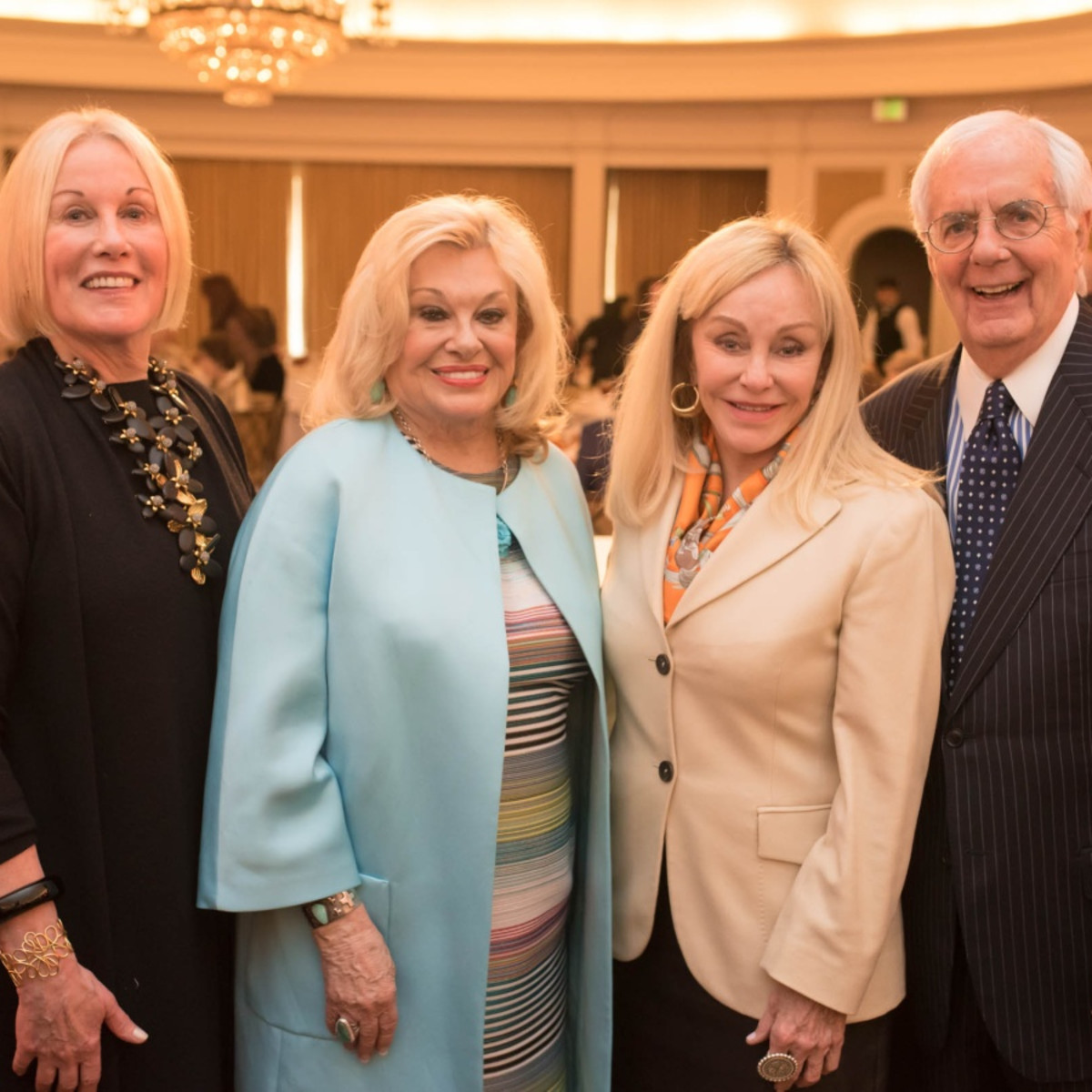 Houston, TCH Celebration of Champions, February 2018, Elsie Eckert, Sidney Faust, Judi McGee, Scott Basinger