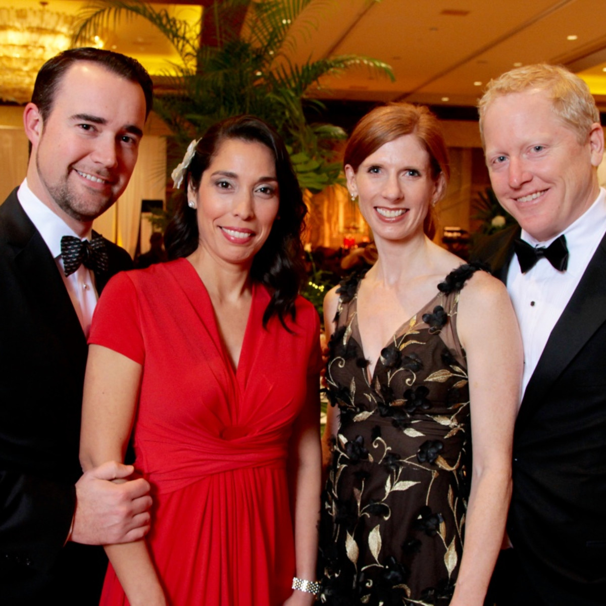 Houston, West University Park Lovers' Ball, February 2018, Shawn Cloonan, Wendy Cloonan, Elizabeth Love, Jason Love