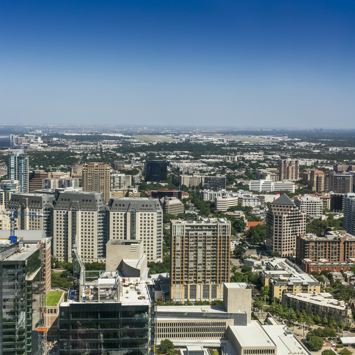 Uptown Dallas in 2016