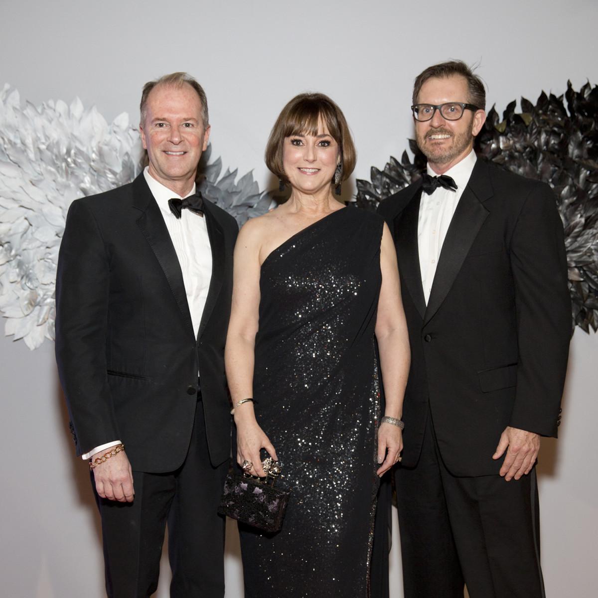 Houston, Ballet Ball, February 2018, Shannon Hall, Leigh Smith, Marcus Sloan
