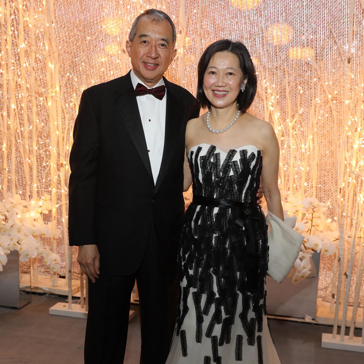 Houston, Ballet Ball, February 2018, Albert Chao, Anne Chao
