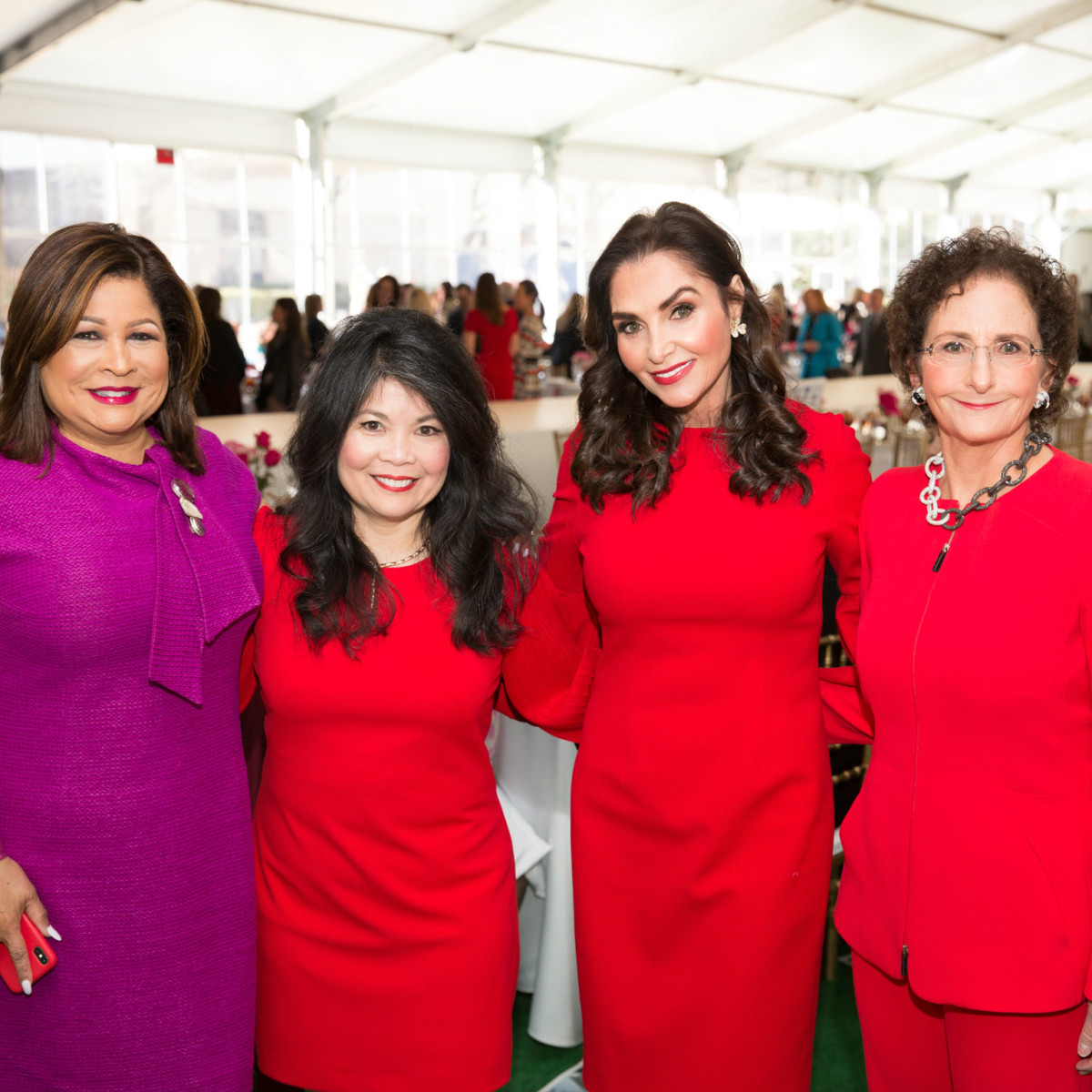 Clarice Tinsley, Nancy Gopez, Rozalyn Colombo, Nancy Nasher