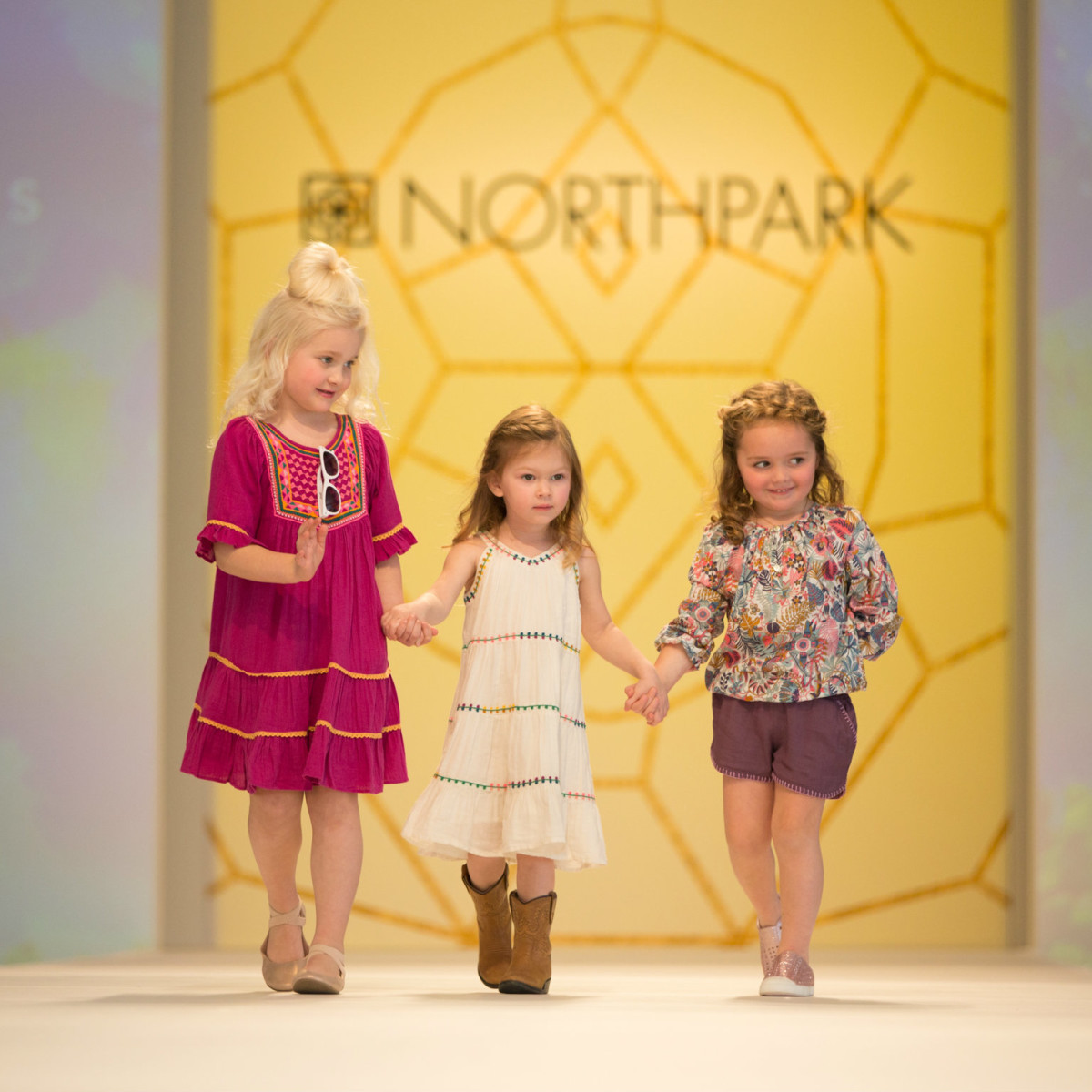 Children's fashion show at Leukemia & Lymphoma Society