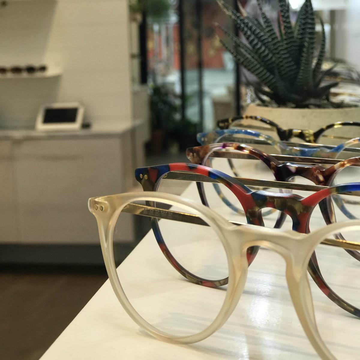 Krewe glasses