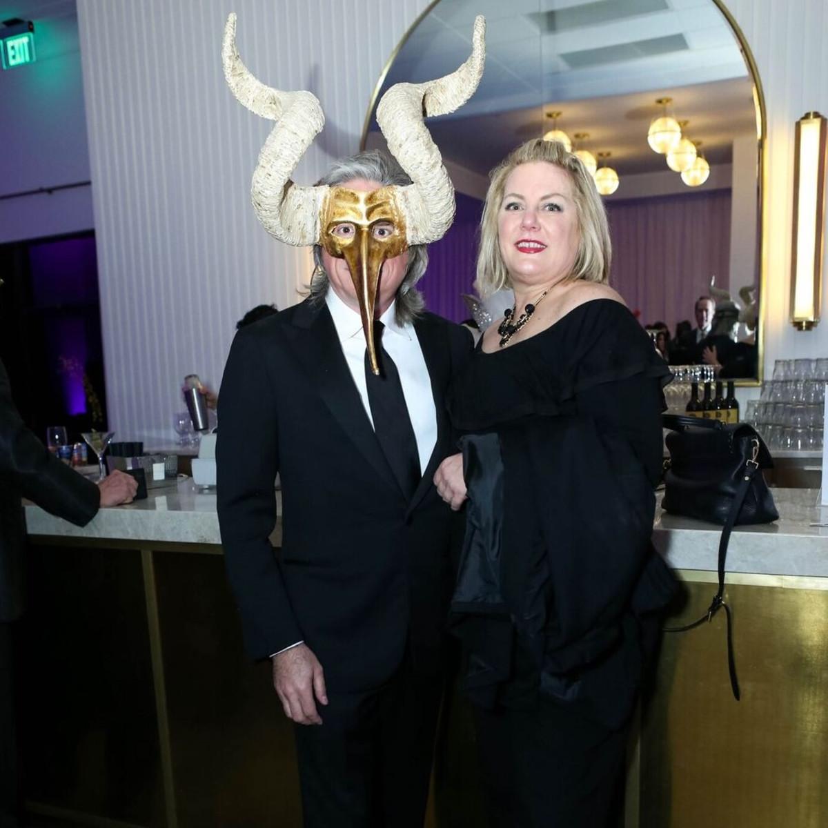 Clint Bradley, Lynne Duncan, Arthritis Foundation Mardi Gras Ball