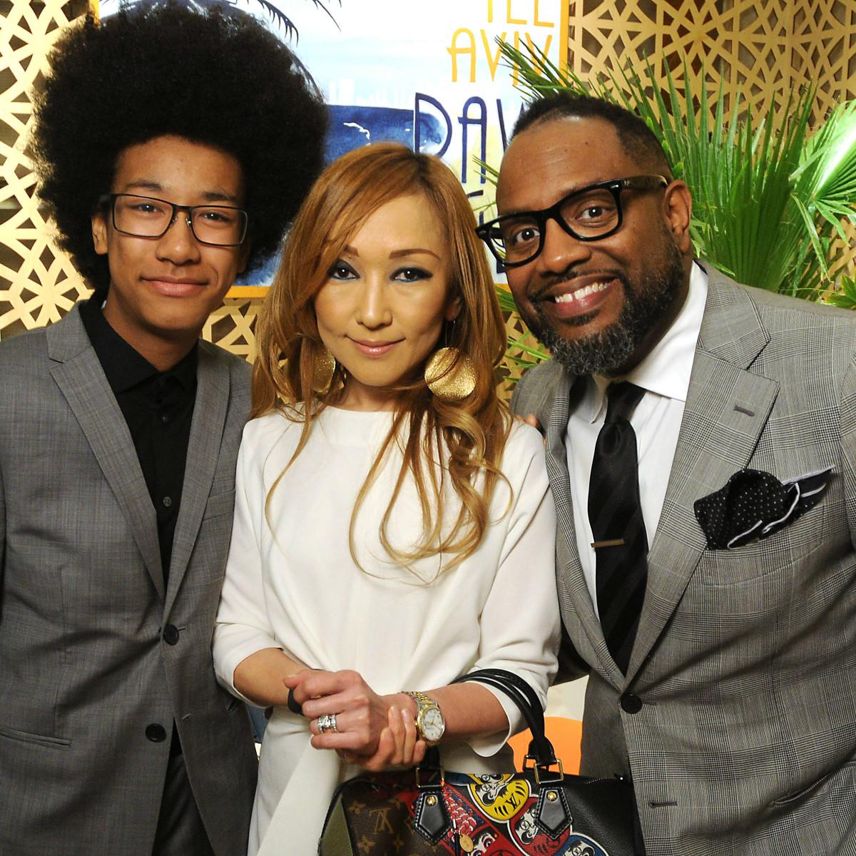 Daiji, Kay and Daniel Bertrand