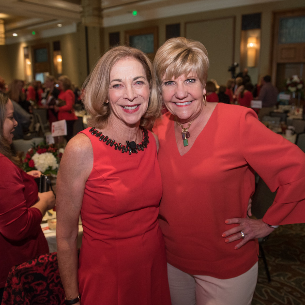 Katherine Switzer, Mayor Betsy Price, Go Red for Women Fort Worth 2018