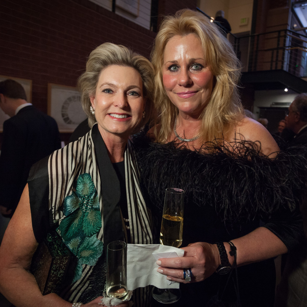 Carla Thompson and Renée Walsh, TBT Gala 2018