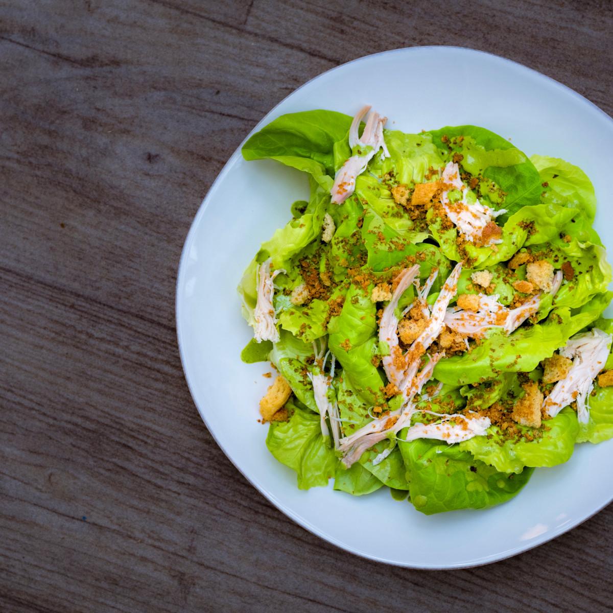 Feges BBQ pulled chicken salad