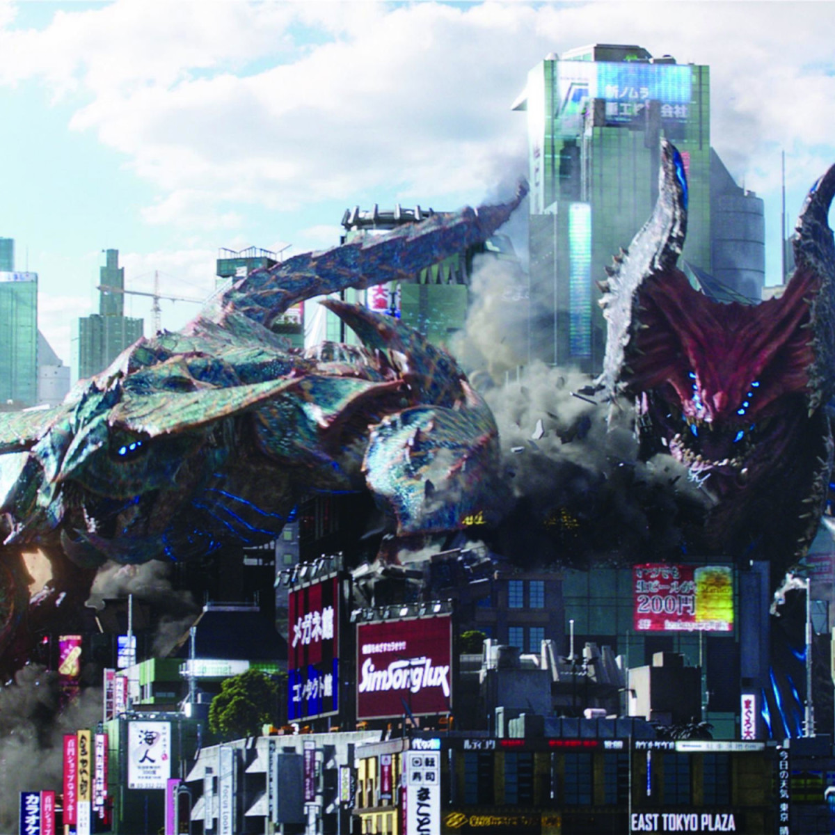 Kaiju in Pacific Rim Uprising