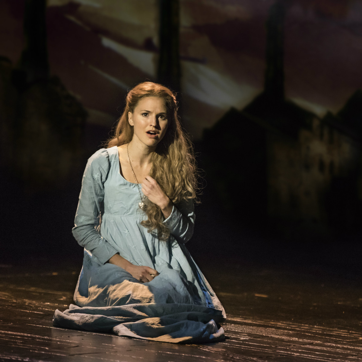 Melissa Mitchell as Fantine in the new national tour of Les Miserables