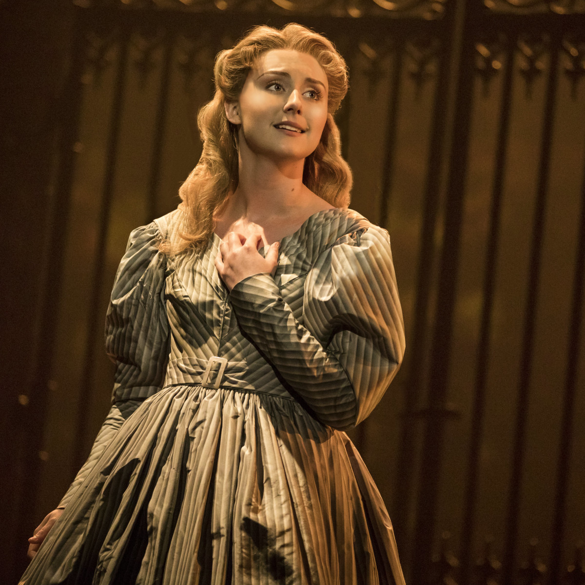 Jillian Butler as Cosette in the new national tour of Les Miserables