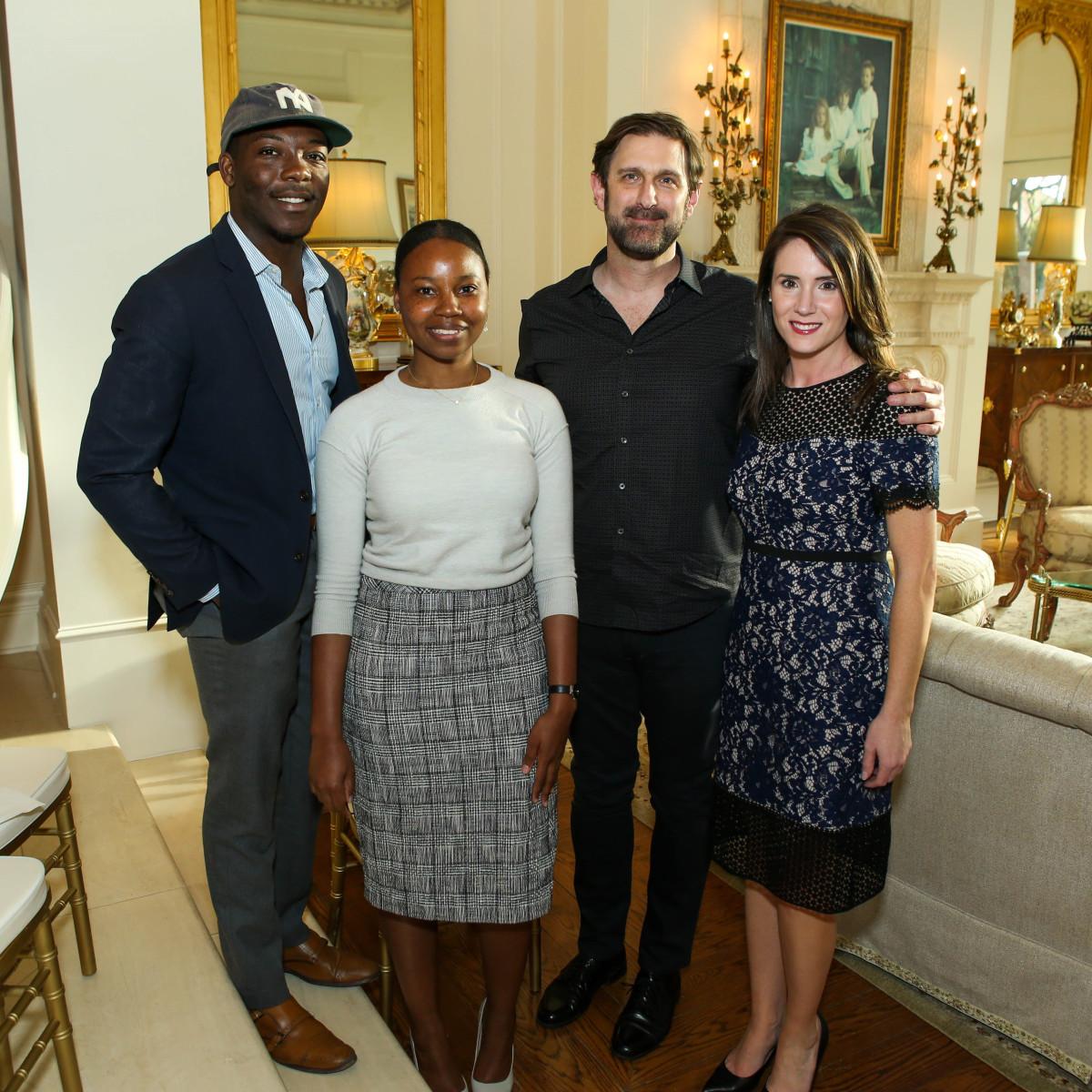 Joseph Akintolayo, Kayla Marshal, Rob Wilson, Jessica Whit-Garner, Bryan's House 30th anniversary kickoff