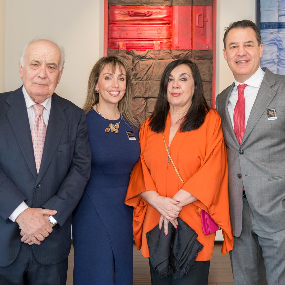 Cristobal Toral, Liliana Molina, Marisa Oropesa, and Mauricio Vallejo