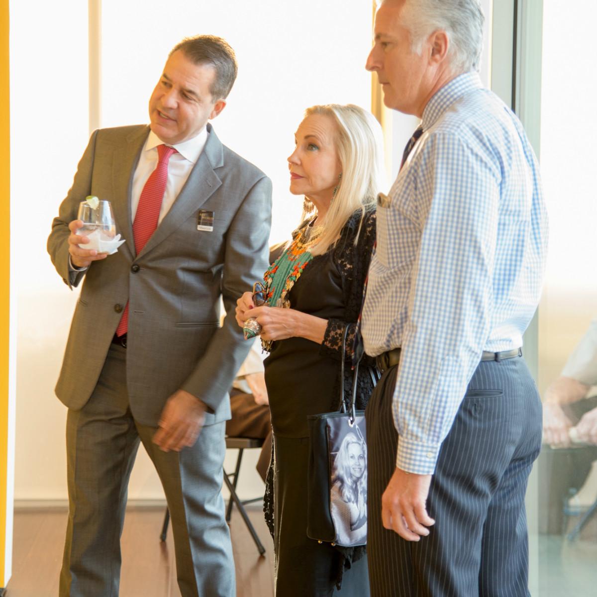 Mauricio Vallejo, Carolyn Farb and Brian Spack