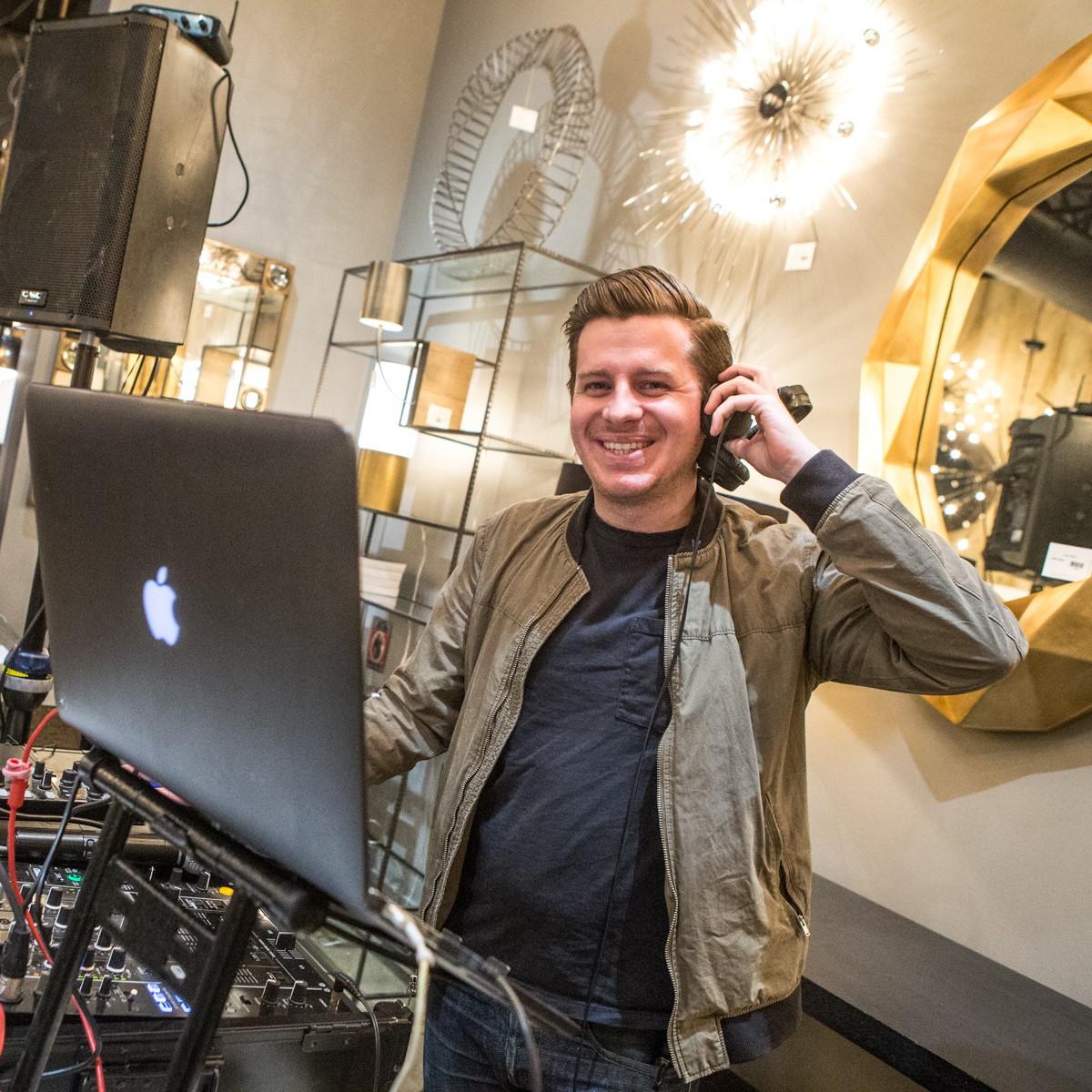 DJ Blake Ward, Arteriors Party 2018