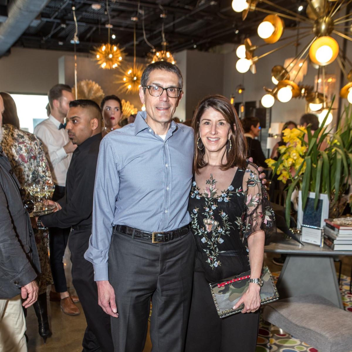 Alan Katz; Karen Katz, Arteriors Party 2018