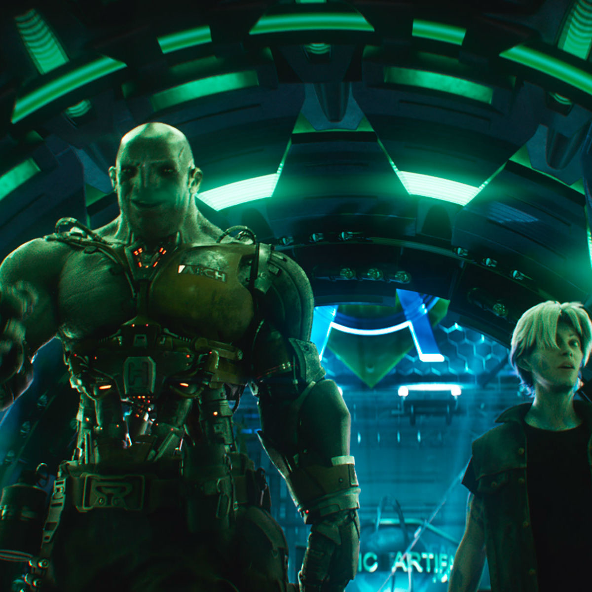 Aech and Parzival in Ready Player One
