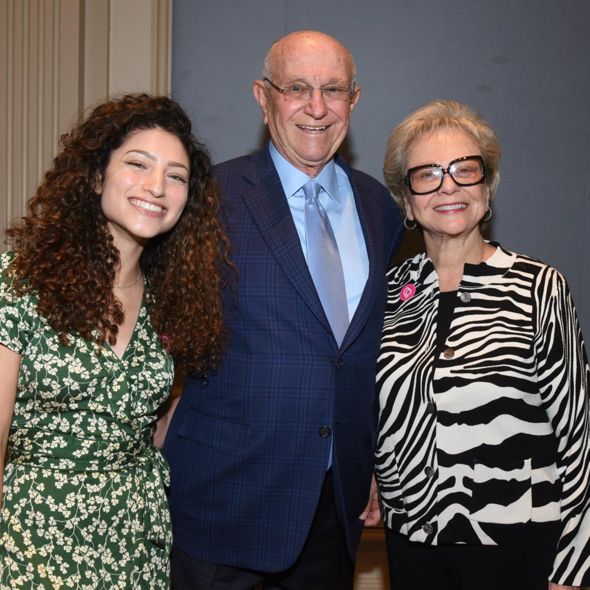 Leah Levine, Ann Levine, Nate Levine