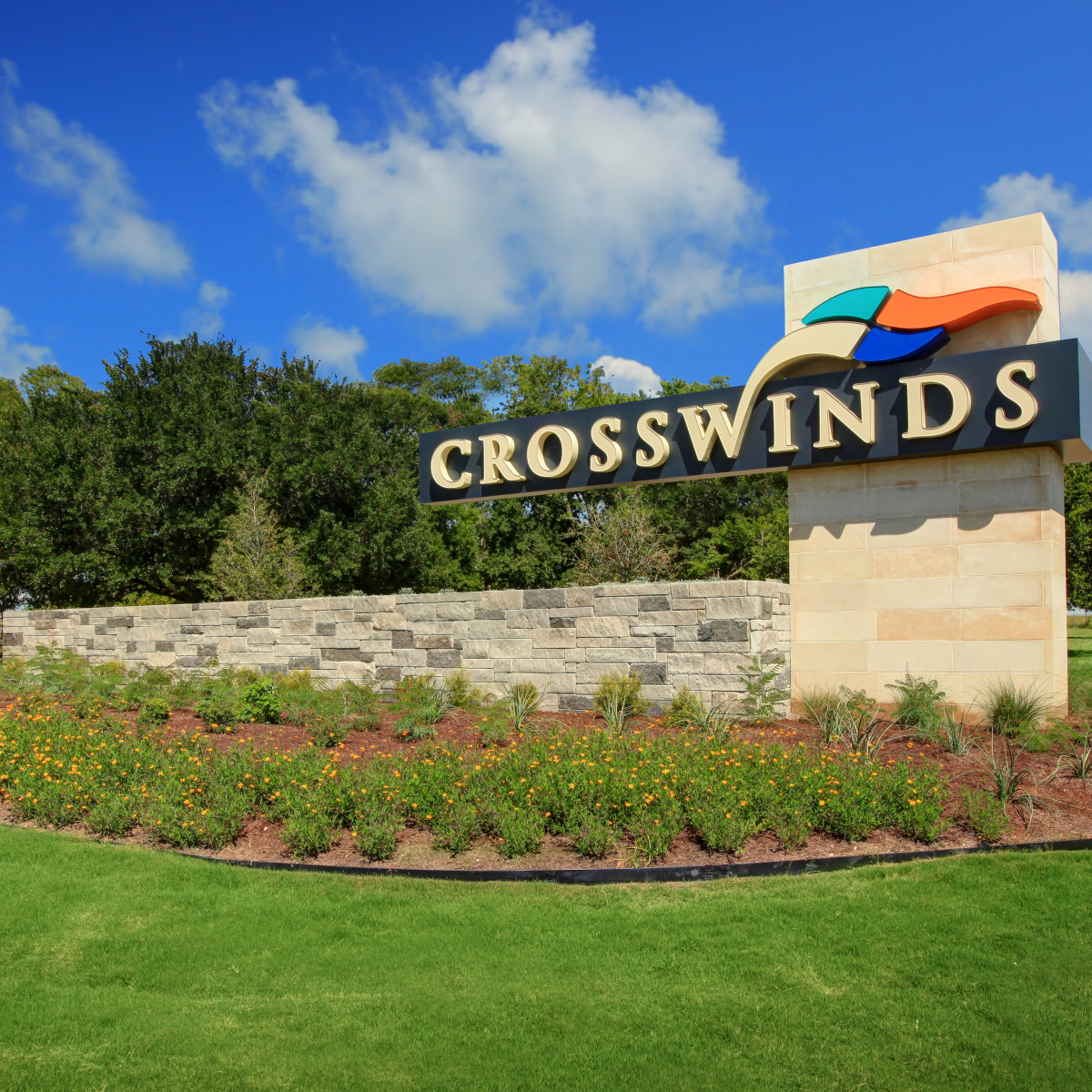 Crosswinds sign