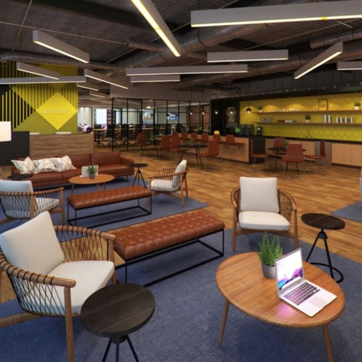 Venture X Galleria, co-working in Dallas