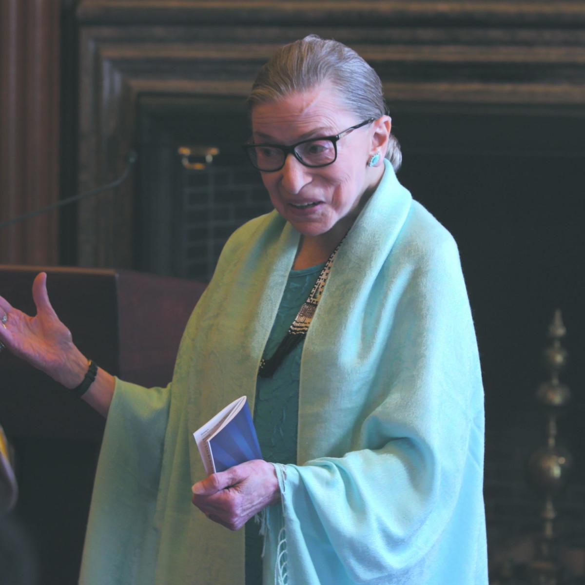 Ruth Bader Ginsburg in RBG