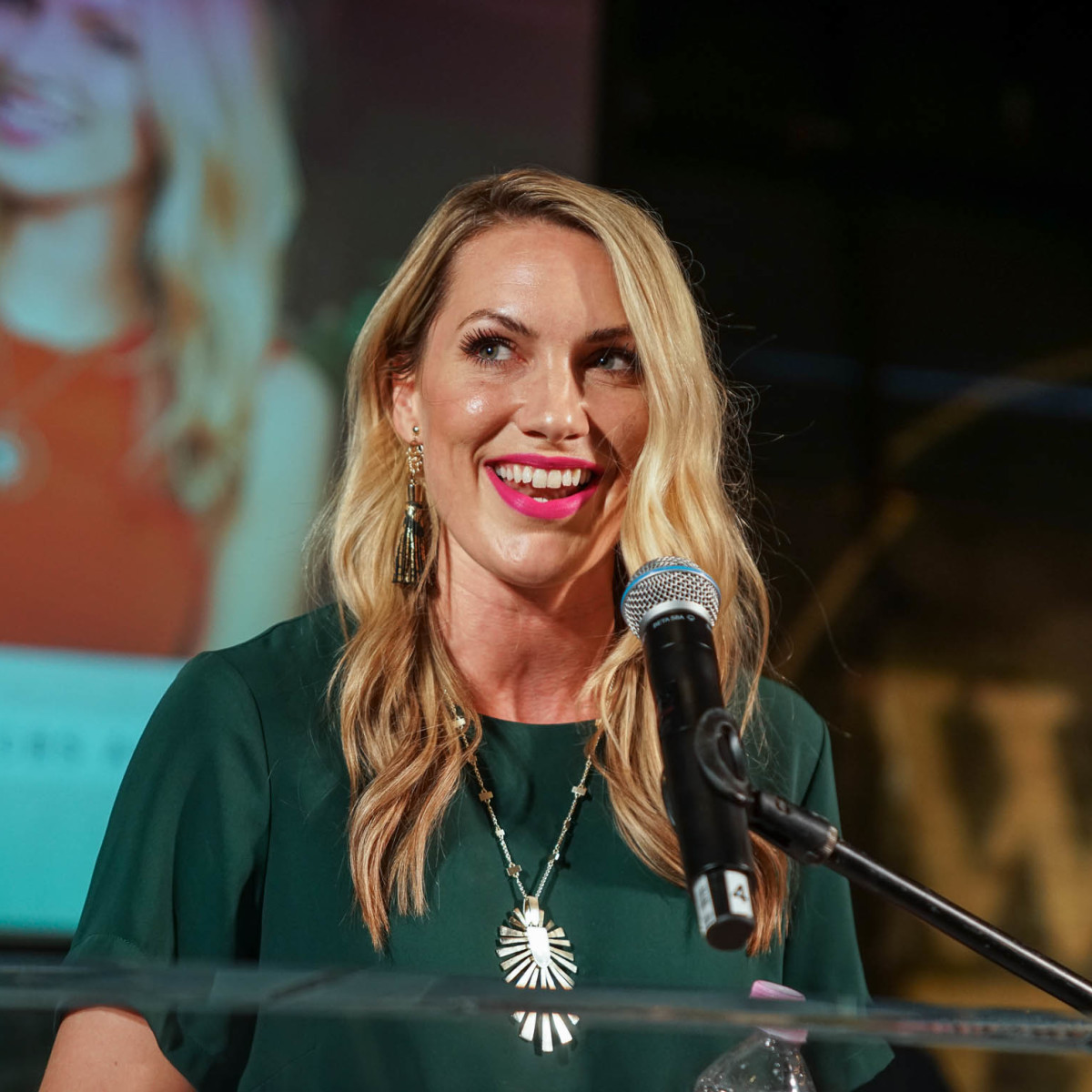 CultureMap Austin 2018 Tastemaker Awards at Fair Market Emcee Taylor Ellison We Are Austin