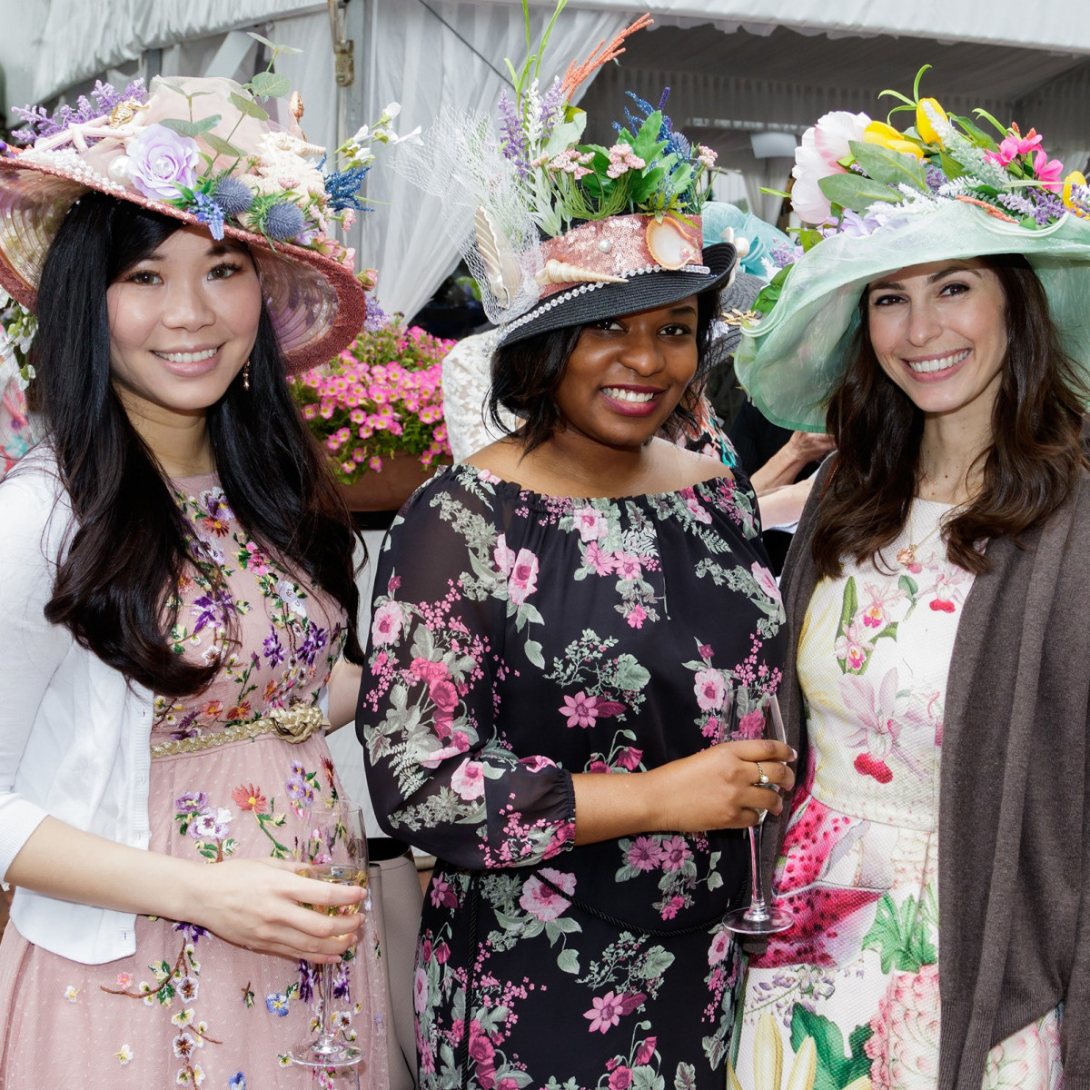 Mad Hatters 2018, Monica Peng, Courtney Solomon, Danielle Dukellis