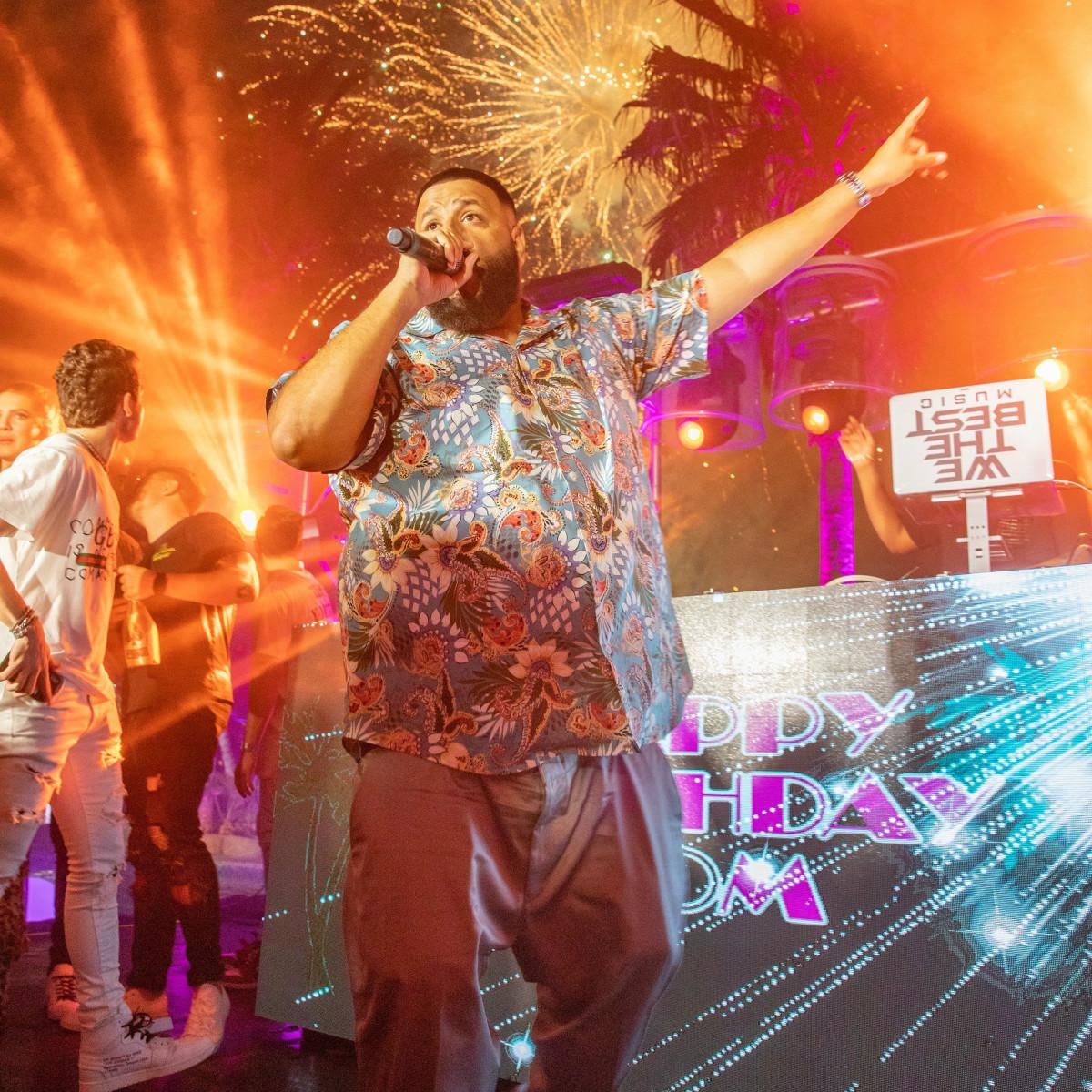 DJ Khaled Thomas Henry Family Miami
