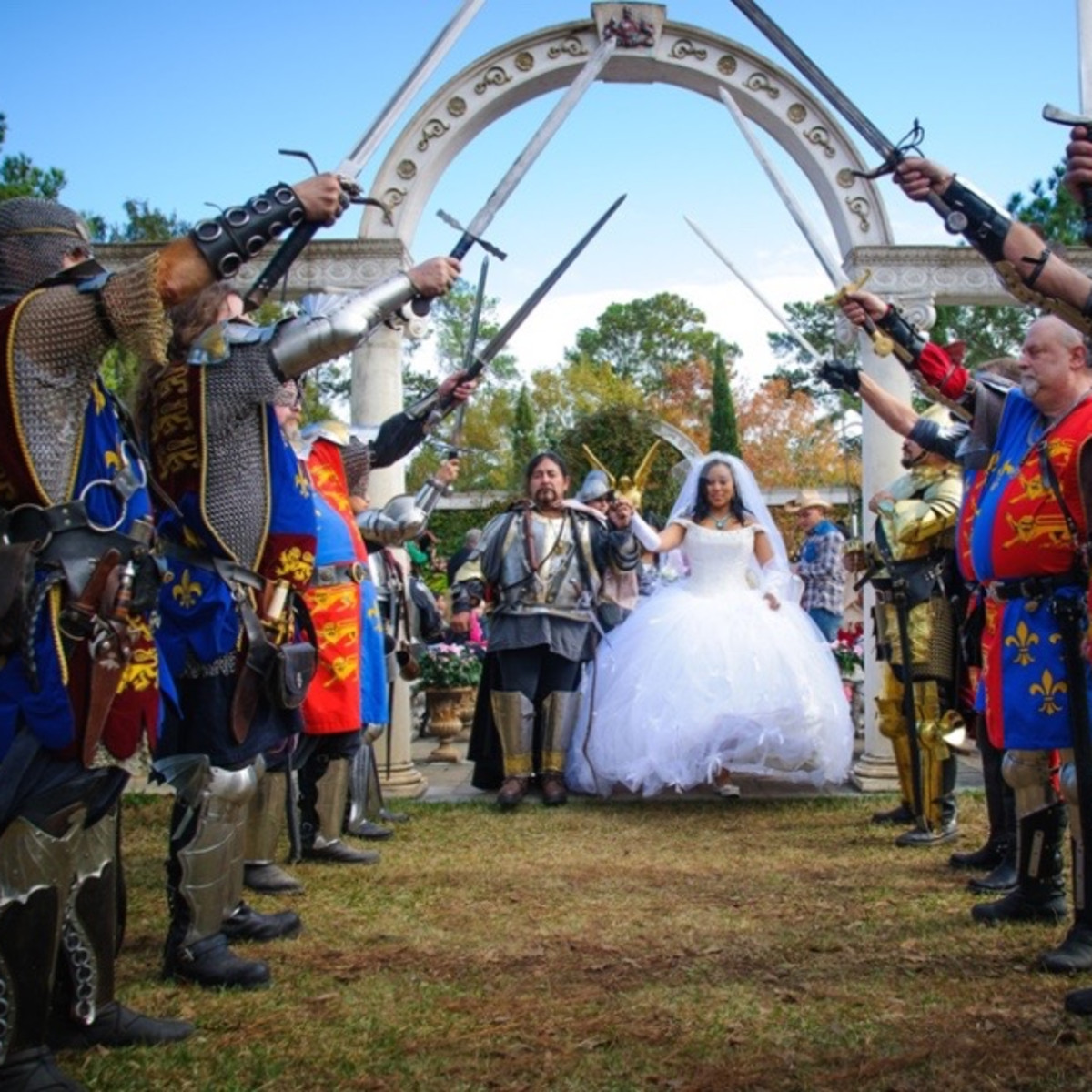 Texas Renaissance Festival wedding