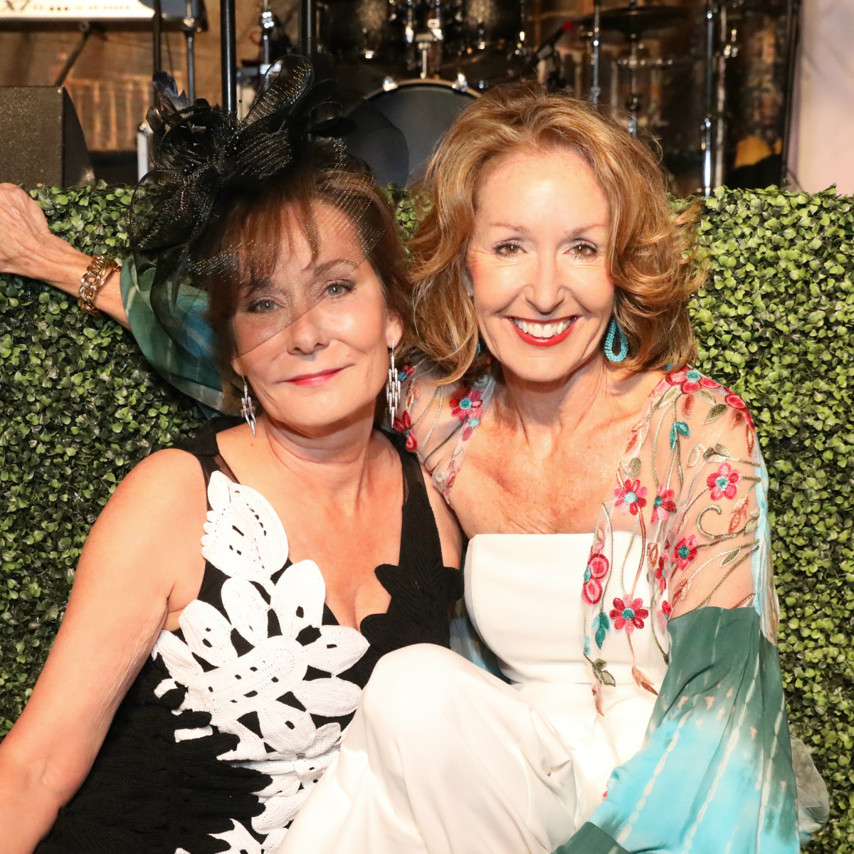 Melanie Gray and June Christensen